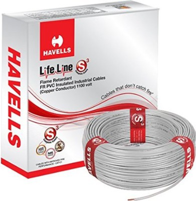 Havells PVC Grey 90 m Wire