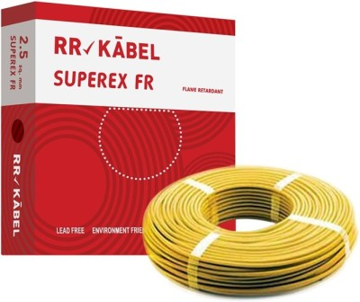 RR Kabel PVC 2.5 sq/mm Yellow 90 m Wire