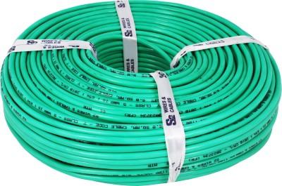 S2 KALINGA Flame Retardant (FR) PVC 6 sq/mm Green 90 m Wire