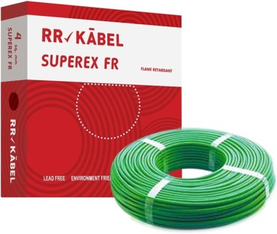 RR Kabel PVC 4 sq/mm Green 90 m Wire