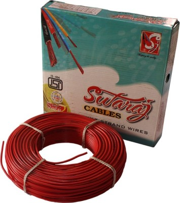 swaraj cable FR PVC Red, Yellow, Blue, Green 90 Wire