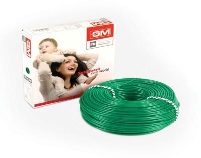 GM FR PVC 1.5 sq/mm Green 45 m Wire(Green)