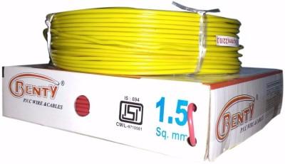 Benty PVC 1.5 sq/mm Yellow 91.44 m Wire