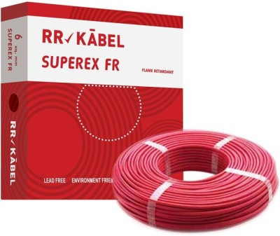 RR Kabel PVC 6 sq/mm Red 90 m Wire
