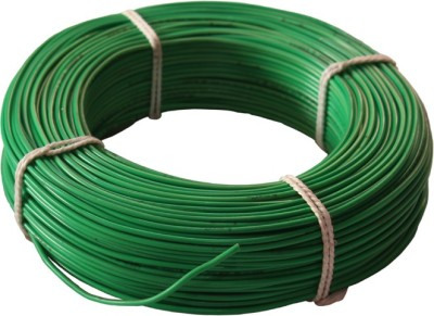 SWARAJ CABLE FR PVC Green 90 Wire