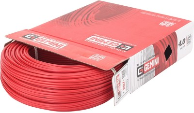 Gemini PVC 4 sq/mm Red 90 m Wire