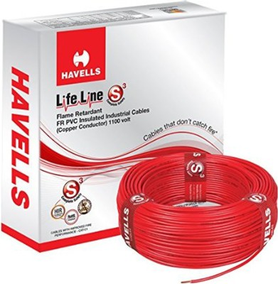 Havells PVC Red 90 m Wire