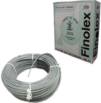 Finolex FR PVC 0.4 sq/mm Black 90 m Wire