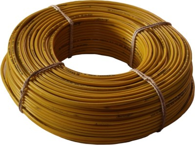 swaraj cables pvc Yellow 90 Wire