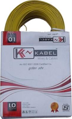 KK Kabel FR PVC, FRLS PVC, SIMPLE PVC Yellow 90 m Wire