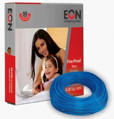 Eon FR PVC 1.5 sq/mm Blue 90 m Wire(Blue)