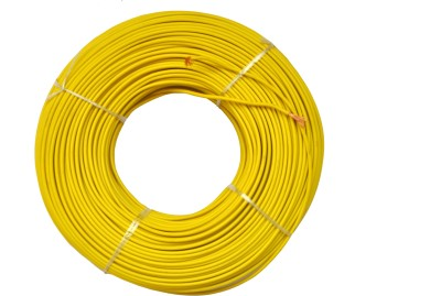 Jupiter Cables 4.0 mm sq YELLOW FIRE RETARDANT Yellow 90 m Wire