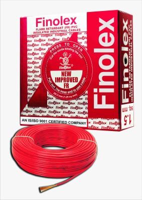 Finolex FR PVC, PVC 1.5 sq/mm Red 90 m Wire