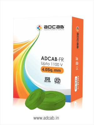 Adcab FR Green 90 m Wire
