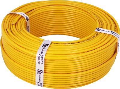 S2 KALINGA Flame Retardant (FR) PVC 4 sq/mm Yellow 90 m Wire