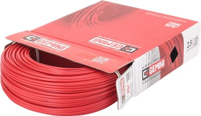 Gemini PVC 2.5 sq/mm Red 90 m Wire