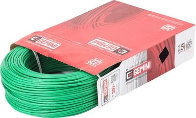 Gemini PVC 1.5 sq/mm Green 90 m Wire
