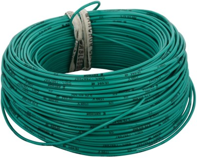 Anchor FR PVC Green 90 m Wire