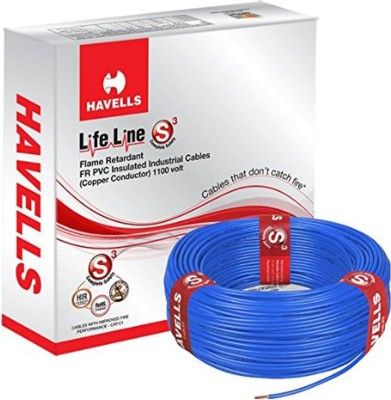 Havells PVC Blue 90 m Wire