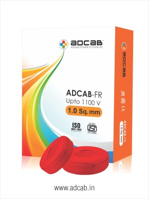 Adcab FR Red 90 m Wire