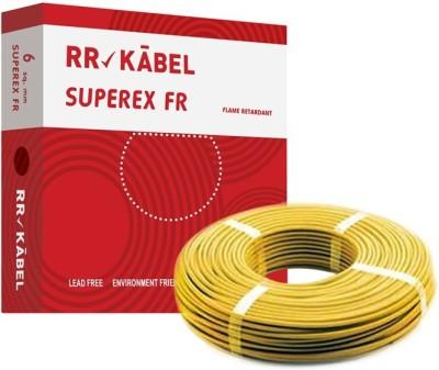 RR Kabel PVC 6 sq/mm Yellow 90 m Wire