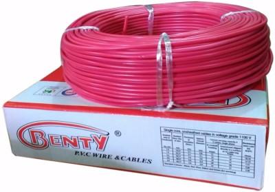 Benty PVC 2.5 sq/mm Red 91.44 m Wire