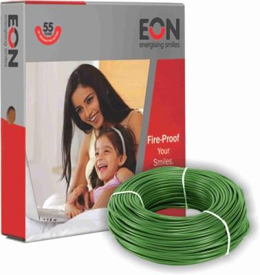 Eon FR PVC 1 sq/mm Green 90 m Wire(Green)