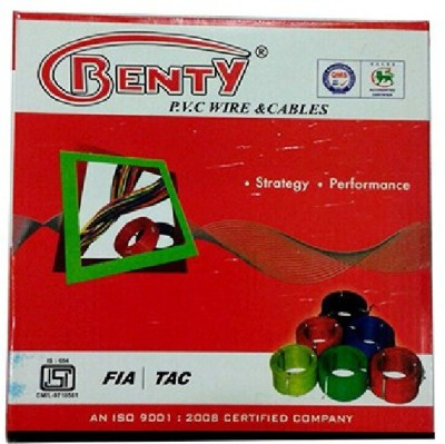 Benty PVC 0.75 sq/mm Red, Yellow, Blue, White 300 ft. Wire