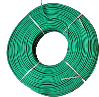 Jupiter Cables 4.0 mm sq FRE RETARDANT GREEN Green 90 m Wire