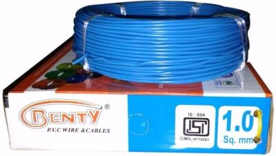 Benty PVC 1 sq/mm Blue 91.44 m Wire