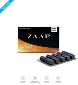 Zaap E-Cigs Classic Tobacco Cartrdiges Automatic Electronic Cigarette