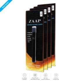 Zaap E-Cigs Tobacco Disposable 4 Pack Automatic Electronic Cigarette
