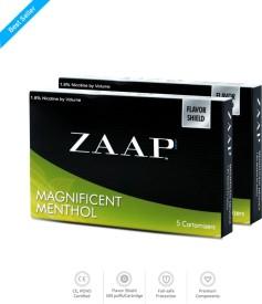 Zaap E-Cigs Menthol Cartridges 2 Pack Automatic Electronic Cigarette