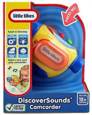 Little Tikes Discover Sounds Camcorder Toy