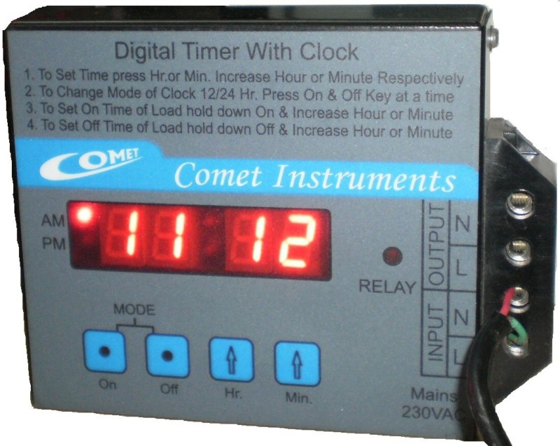 Comet time36 Programmable Electronic Timer Switch(Black)