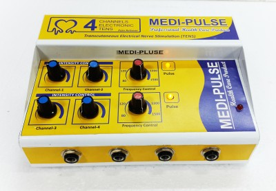 MEDI-PLUSE 4,,CH DELUXE A/C & DC TEN,S MACHINE Electrotherapy Device