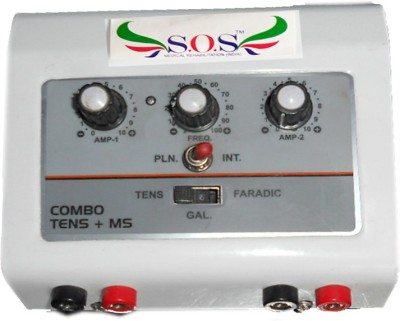 SOS Combo Muscle Stimulator + T.E.N.S. Physiotherapy Electrotherapy Device
