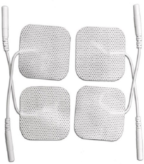 UltraCare PRO Self Adhesive Electrodes (Pack of 4) TENS, EMS, IFT Electrotherapy Device(AE01)