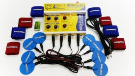 MEDI-PLUSE 4''CH DELUXE A/C & DC TEN'S MACHINE WITH PLUSE INDICATION LIGHT AND SOUND Electrotherapy Device