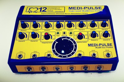 MEDI-PLUSE MTENS-012CH 120T PAIN RELIEVER , MUSCLE,S STIMULATOR , ALL INDIA SERVICES (New Desinge & Compact machine) Electrotherapy Device