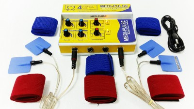 MEDI-PLUSE MEDI-PLUSE DELUXE MODEL TEN,S MACHINE, PAIN RELIEVER , STIMULATOR (PRODUCT USE WITH A/C & BATTERY) ALL INDIA SERVICES Electrotherapy Device