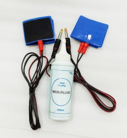 MEDI-PLUSE ELECTRODES WITH GEL PHISOTERPY LONG SIZE PAD'S Electrotherapy Device