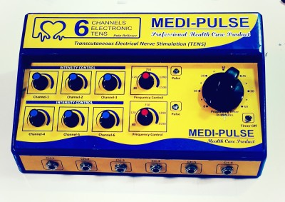MEDI-PLUSE MEID-PLUSE 6CH TEN,S TEN,S MACHINE , MUSCLE STIMULATOR Electrotherapy Device