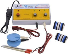 N.P Acupressure 2 Channel Electro Muscle Stimulator Electrotherapy Device(jet2)