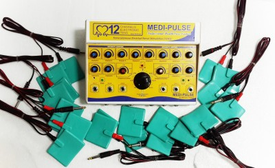 MEDI-PLUSE 12CH. MS TENS MUSCLES STIMULATOR & TENS MACHINE Electrotherapy Device