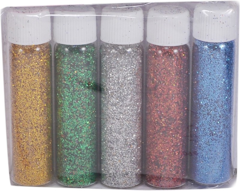 Saamarth Impex Embossing Powder(Multicolor Pack of 5)