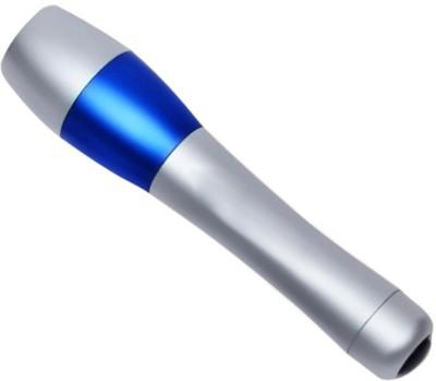 Zarsa Single LED Metal Torches(Silver, Blue)