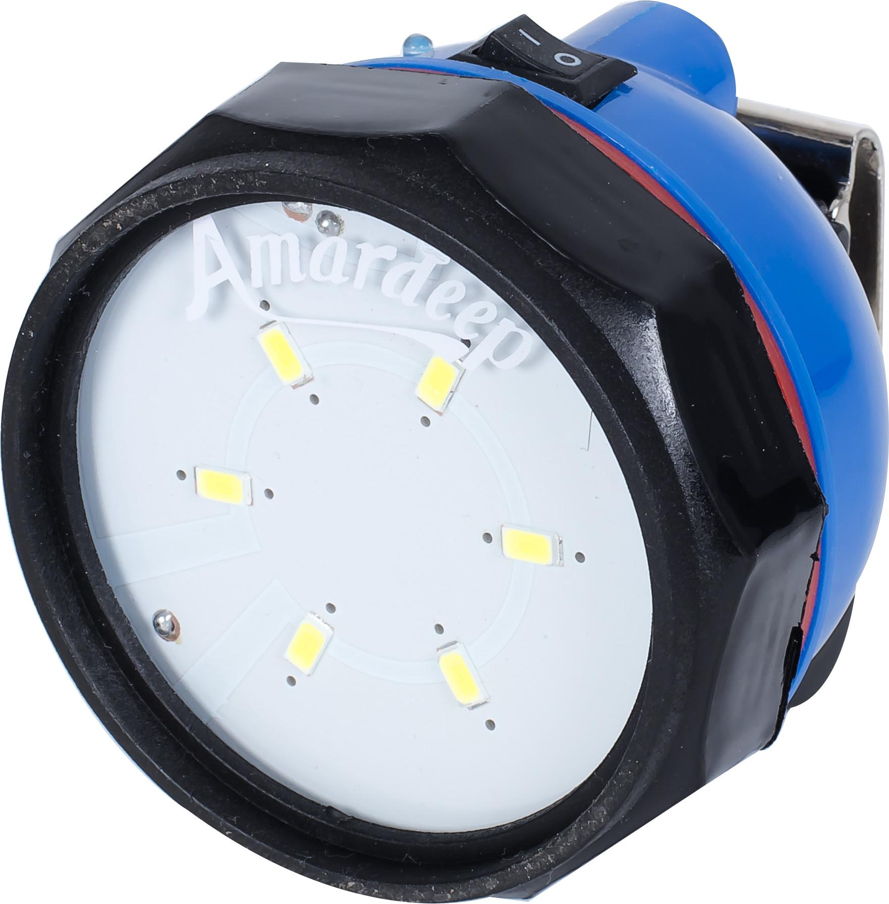 View Amardeep AD 272 Emergency Lights(Blue, Black) Home Appliances Price Online(Amardeep)