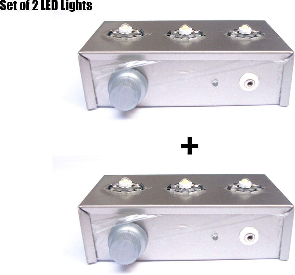 View Vidya Ventures 3 Led Emergency Light Emergency Lights(Grey) Home Appliances Price Online(Vidya Ventures)