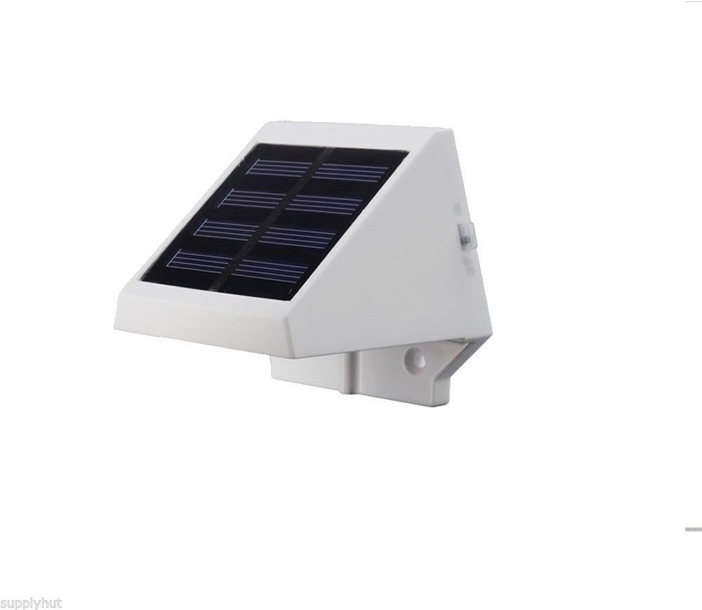 View Quace Led Wall With Screws Solar Lights(White) Home Appliances Price Online(Quace)